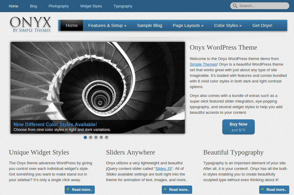 Onyx Home Page