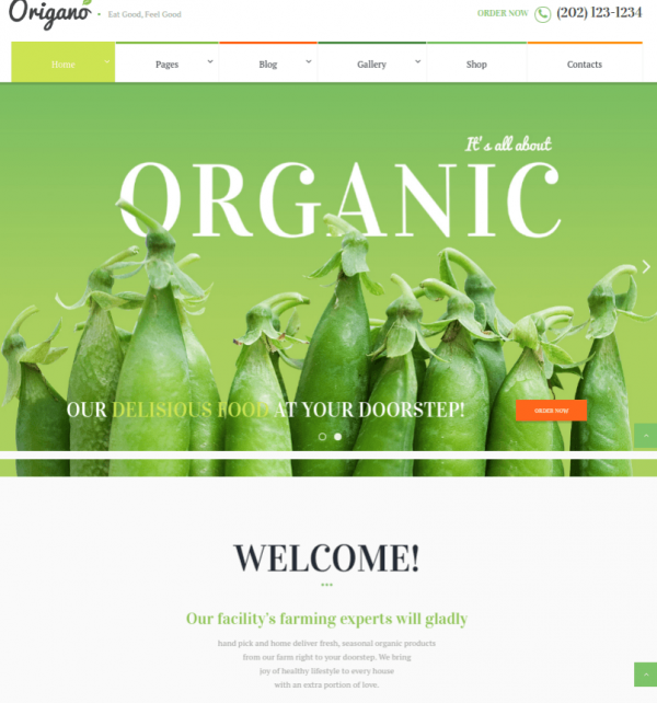 Origano-WordPress