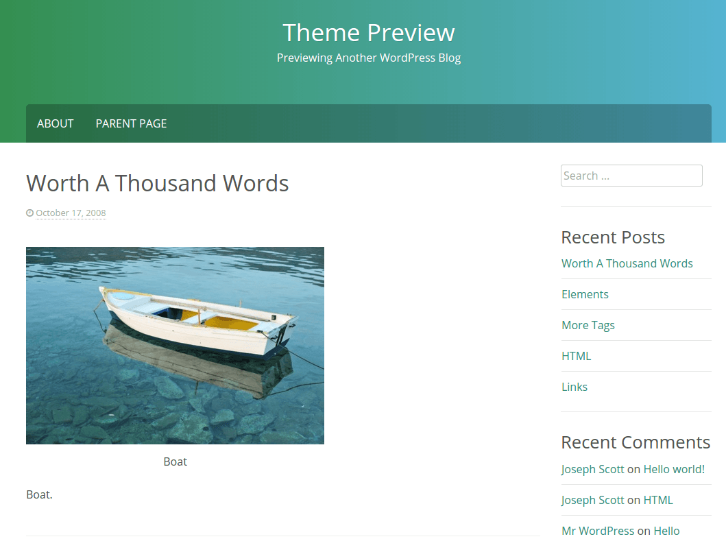 Phosphor Theme Preview Page