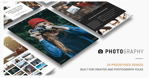 Photography - Responsive Photography WP theme.