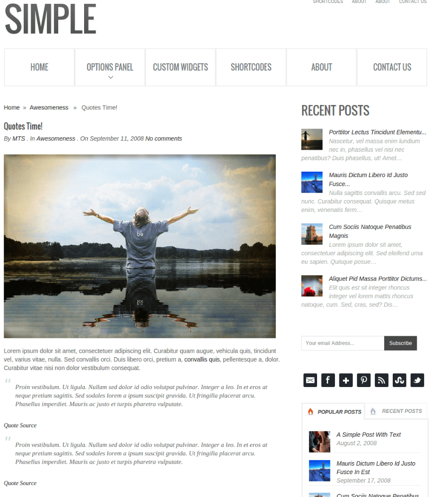 Single Blog of Simple