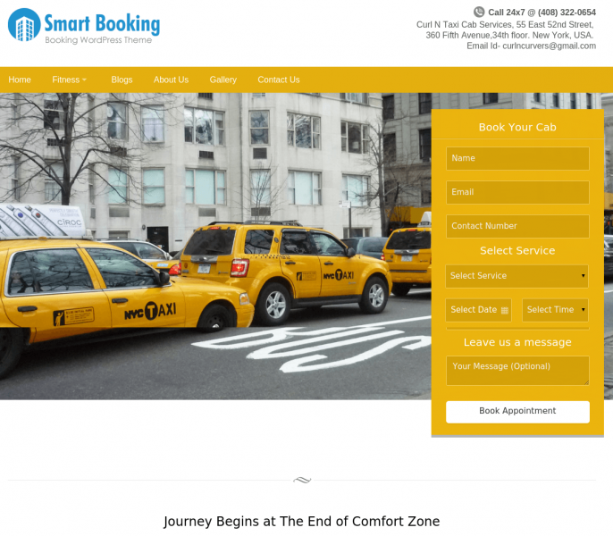 Smartbooking Wordpress theme