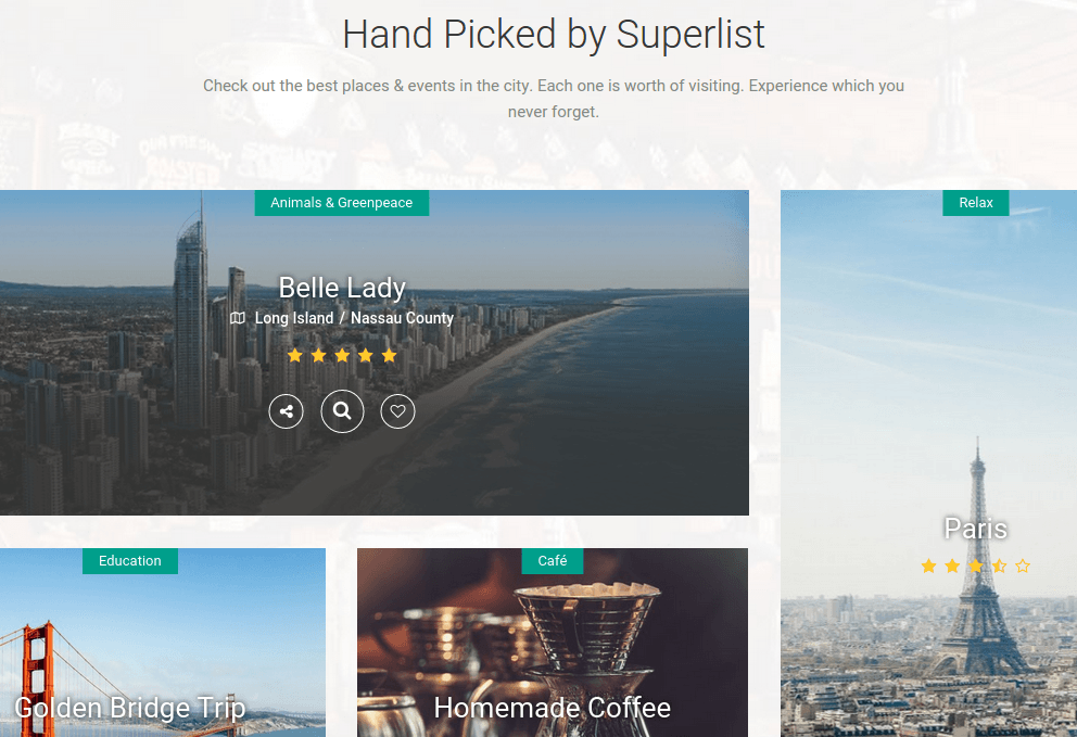 Superlist Hand Picked Section