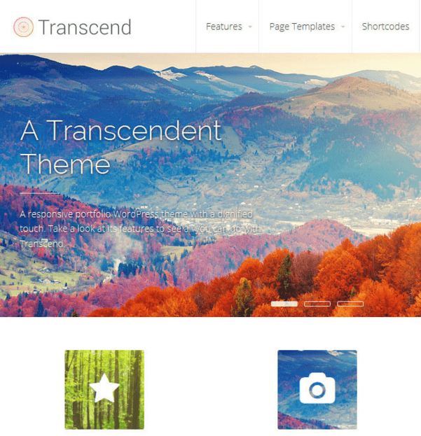 Transcend - Business WordPress theme