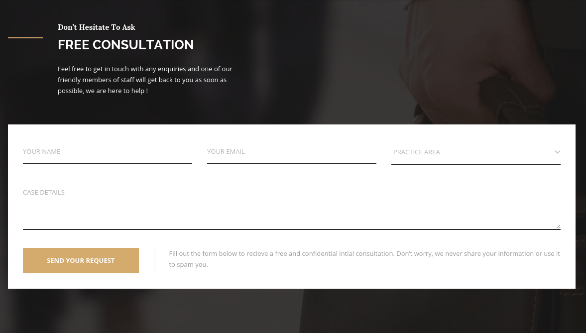 Trust Consultation Section