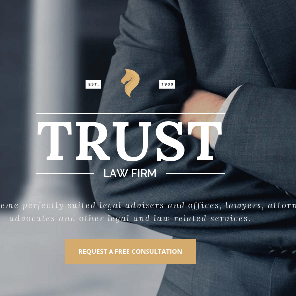 Trust - Lawyer & Attorney Business WP Theme