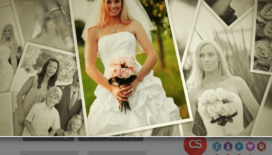Wedding Photos- A Video album for wedding