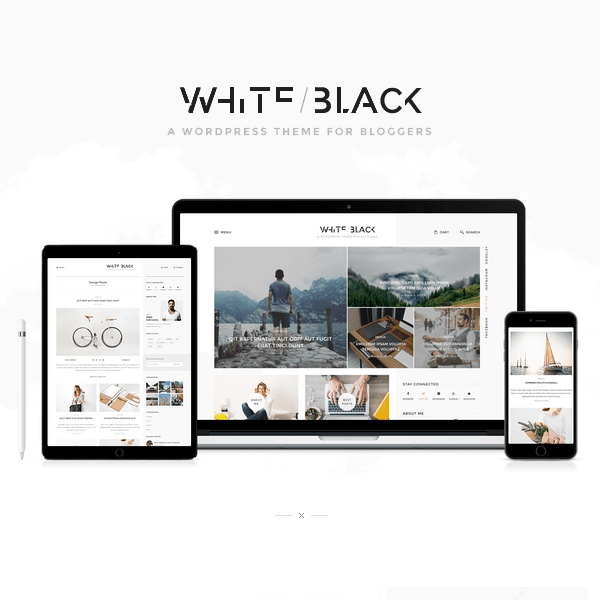 WhiteBlack - A Responsive WordPress Blog Theme