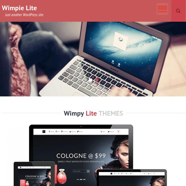 Wimpie Lite WordPress Theme