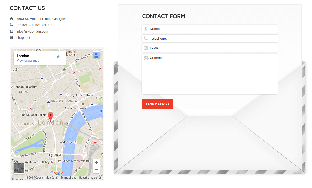 Wootron Contact Page