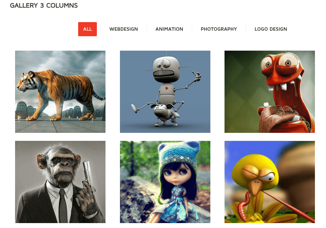 Wootron Gallery Page