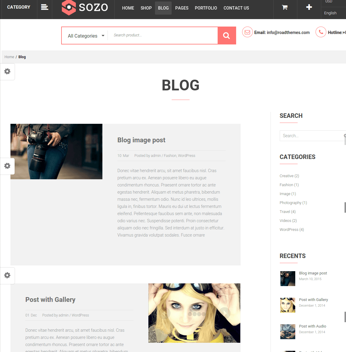 WordPress-Sozo-theme