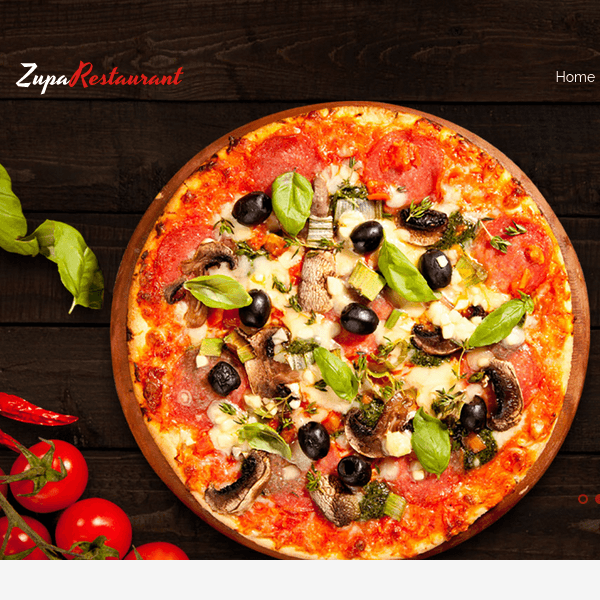 ZupaRestaurant - Business Wordpress Theme
