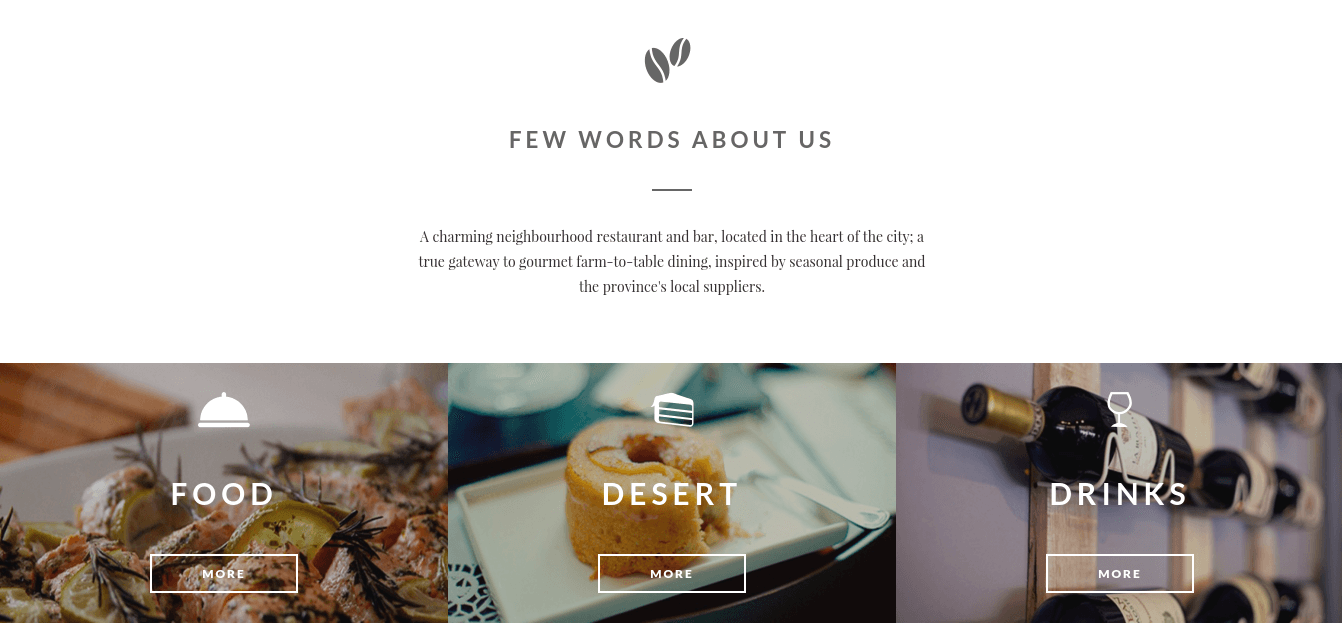 About Us Section of FlyCoffee