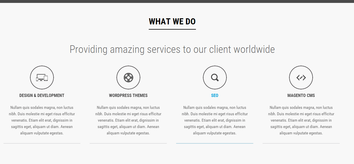 AwesomeOne - Services