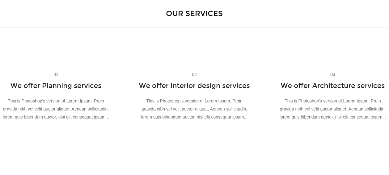 Bauhaus Our Services Page