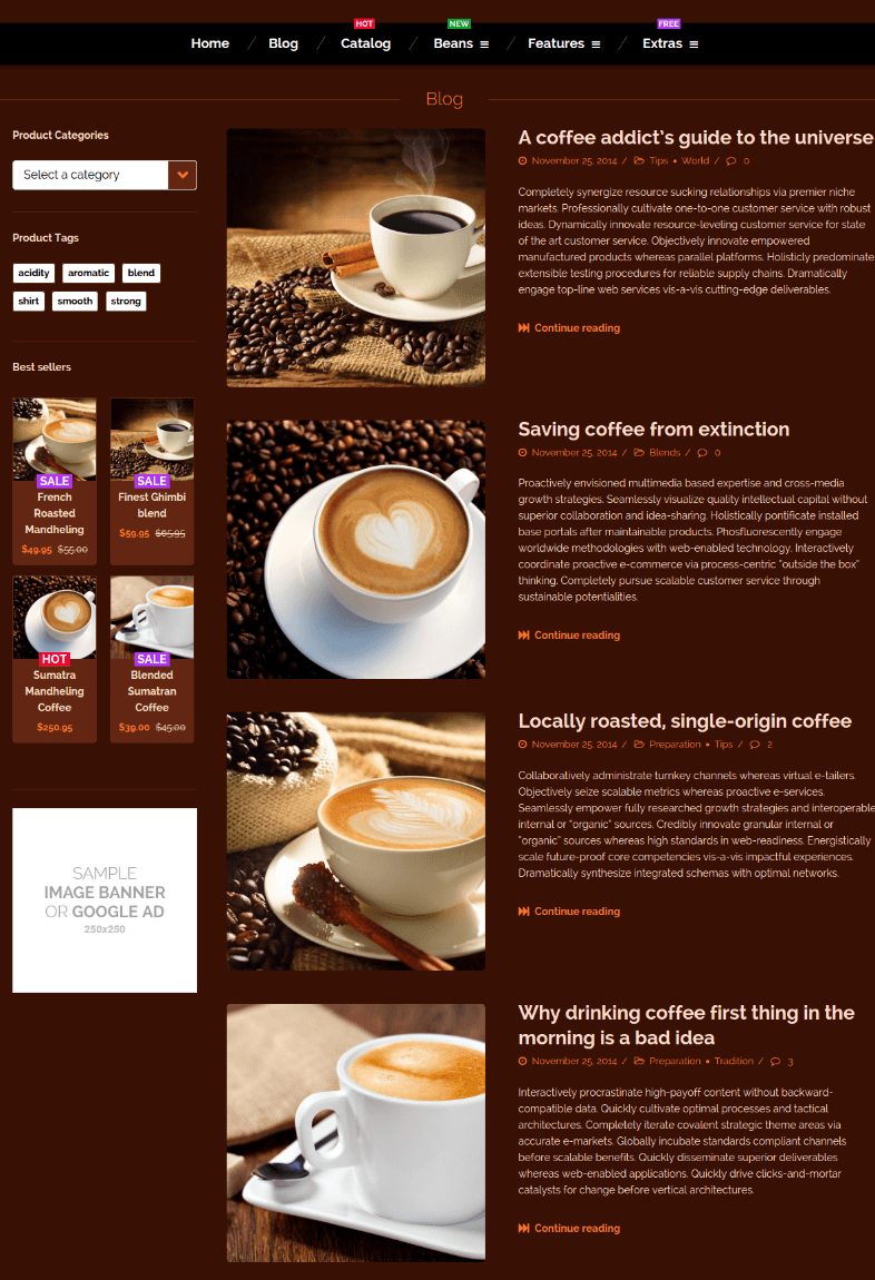 Blog Page Coffe-Polaris