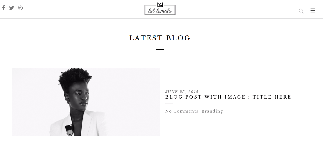 Blog page of Lal tomato