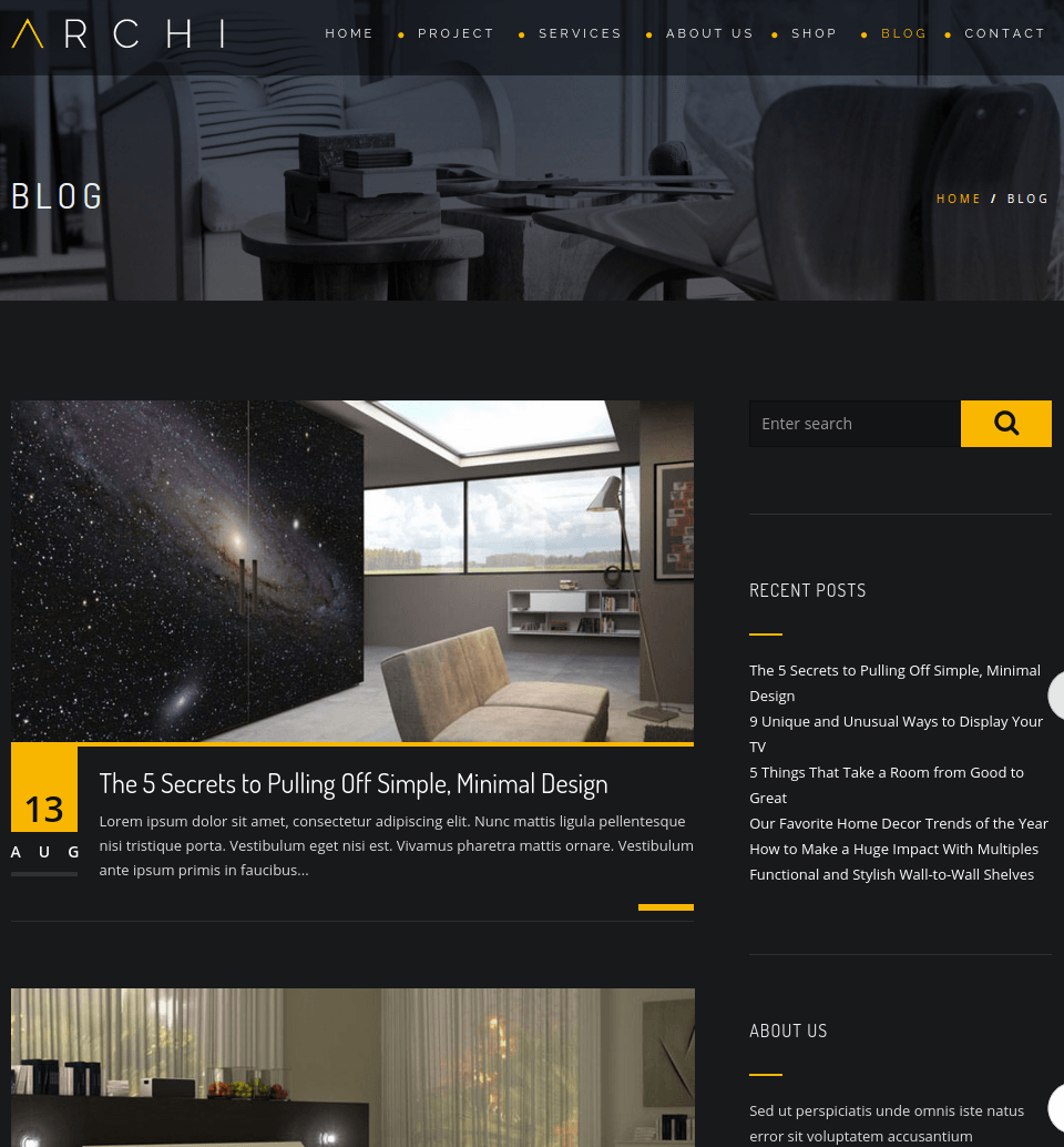 Blogpage of Archi