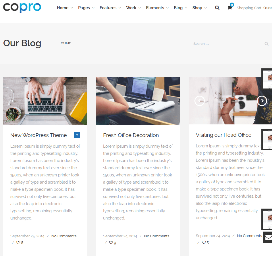 Blogpage of CoPro