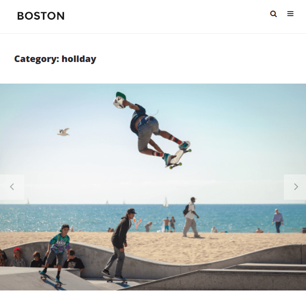 Boston Theme