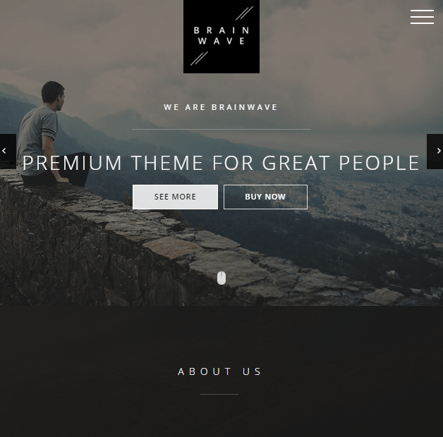Brainwave - Multipurpose One and Multipage WordPress theme