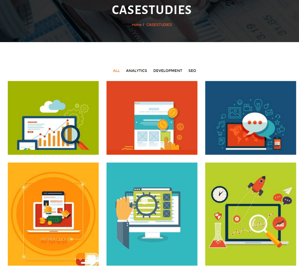 Casestudy Page - Infinity