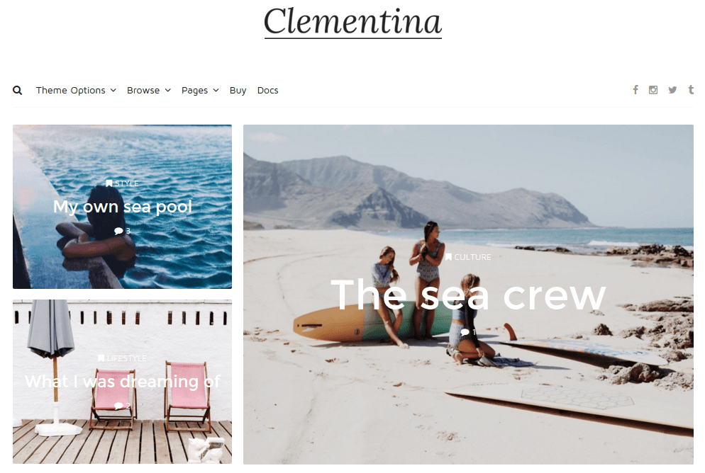 Clementina Home Page
