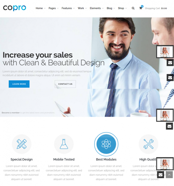CoPro Homepage