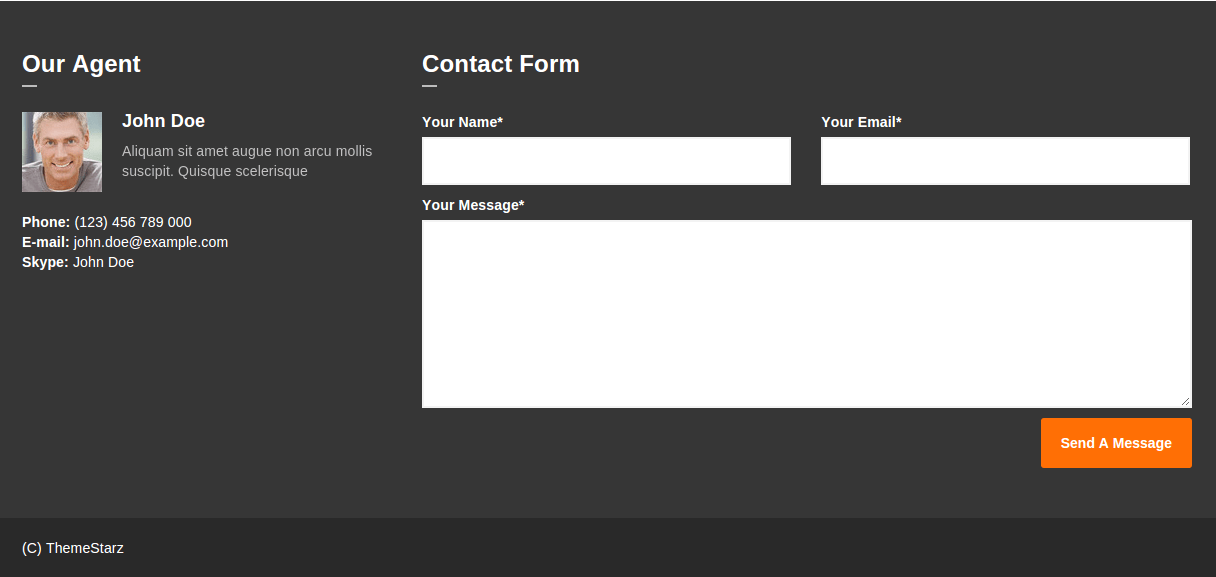 Condio Contact Page