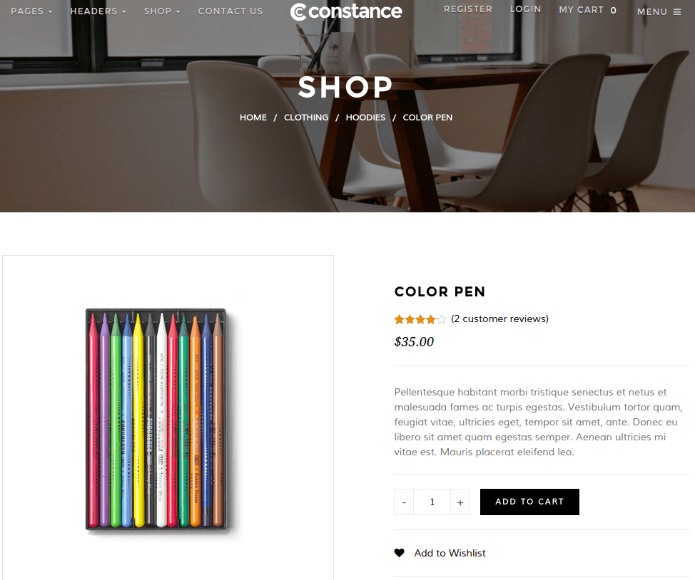 Constance-WordPress-shop-single-product