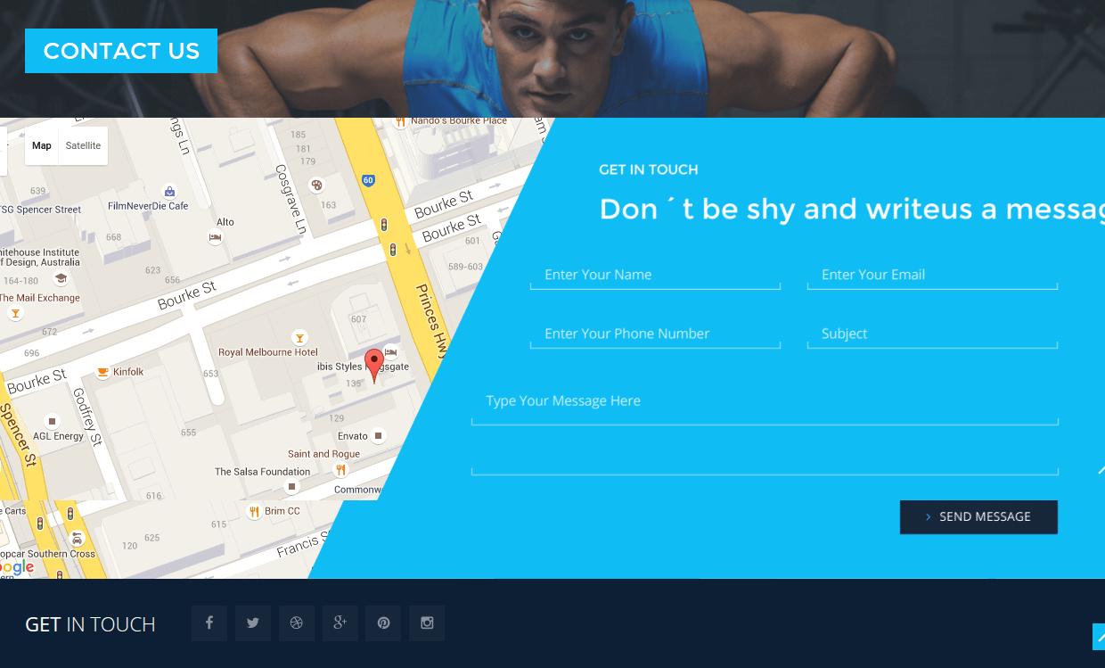 Contact Page - Stayfit