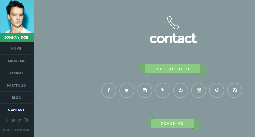 Contact Page of Empathy