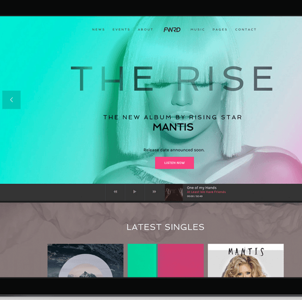 FWRD - WP theme for Musician and Bands