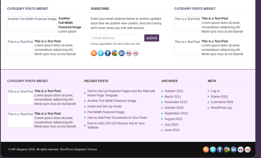 Footer-WP-Elegance-WordPress-Theme