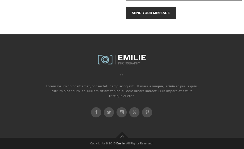 Footer of Emille