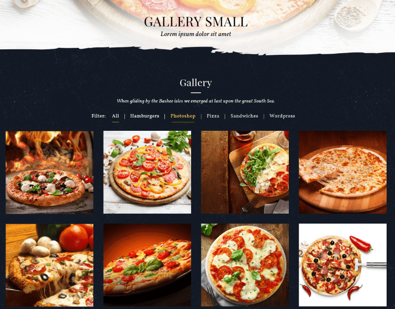 Gallery - Food & Pizzeria