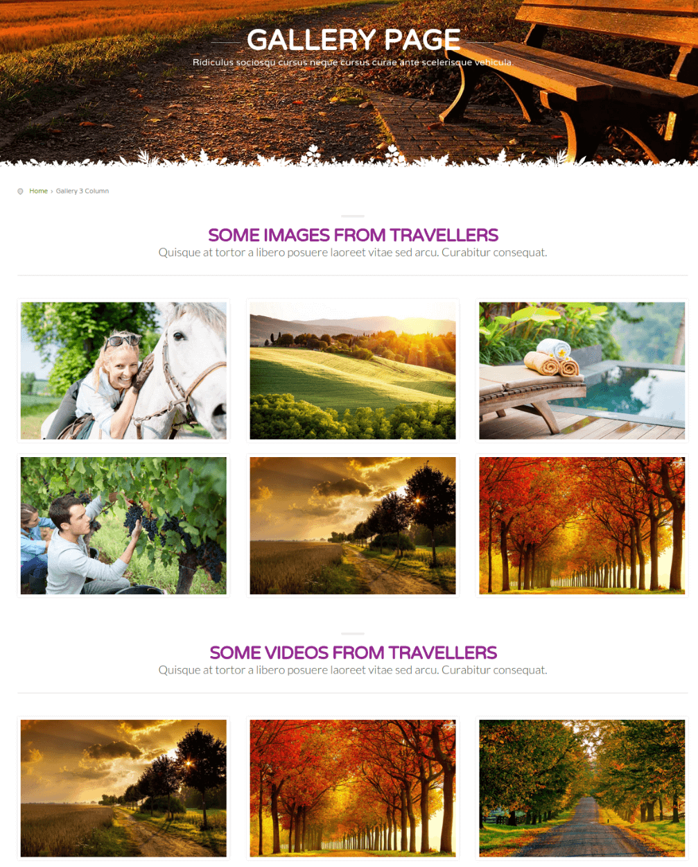 Gallery Page - CountryHolidays