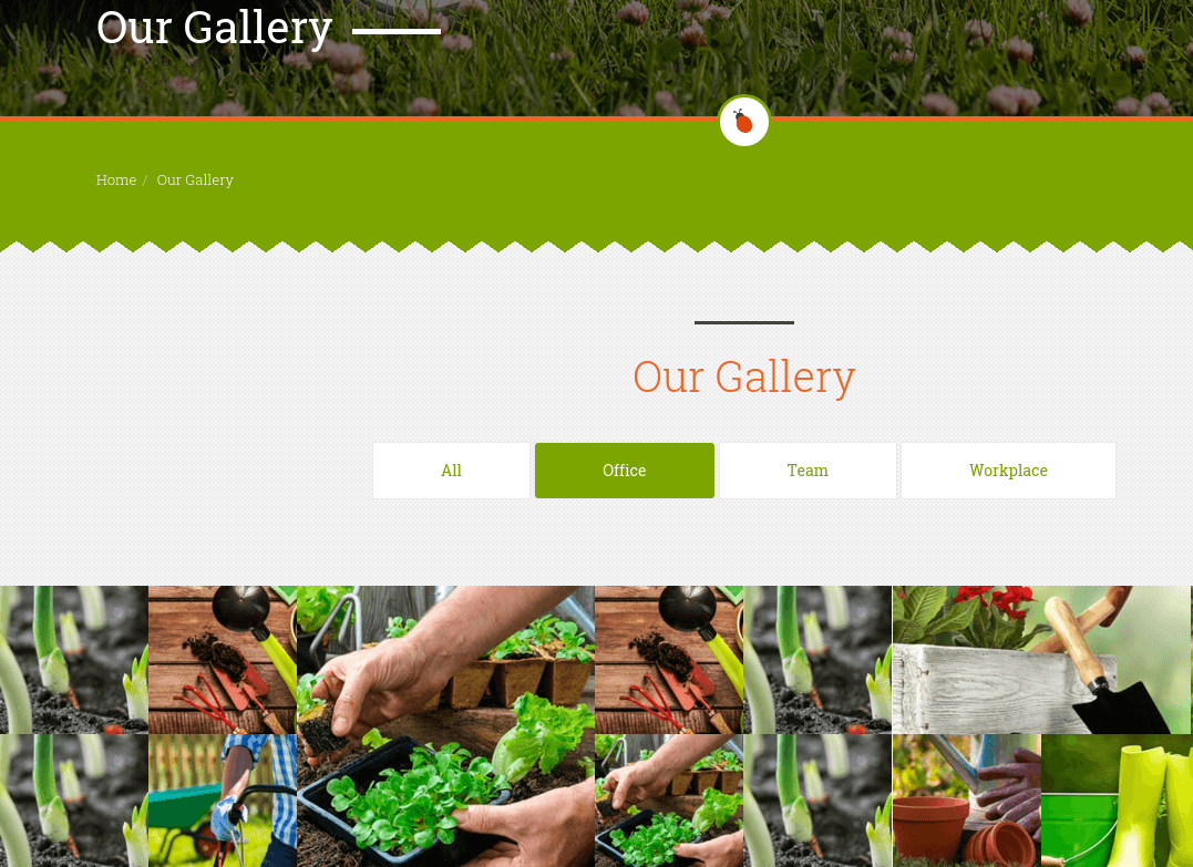 Gallery Page of Garden Master