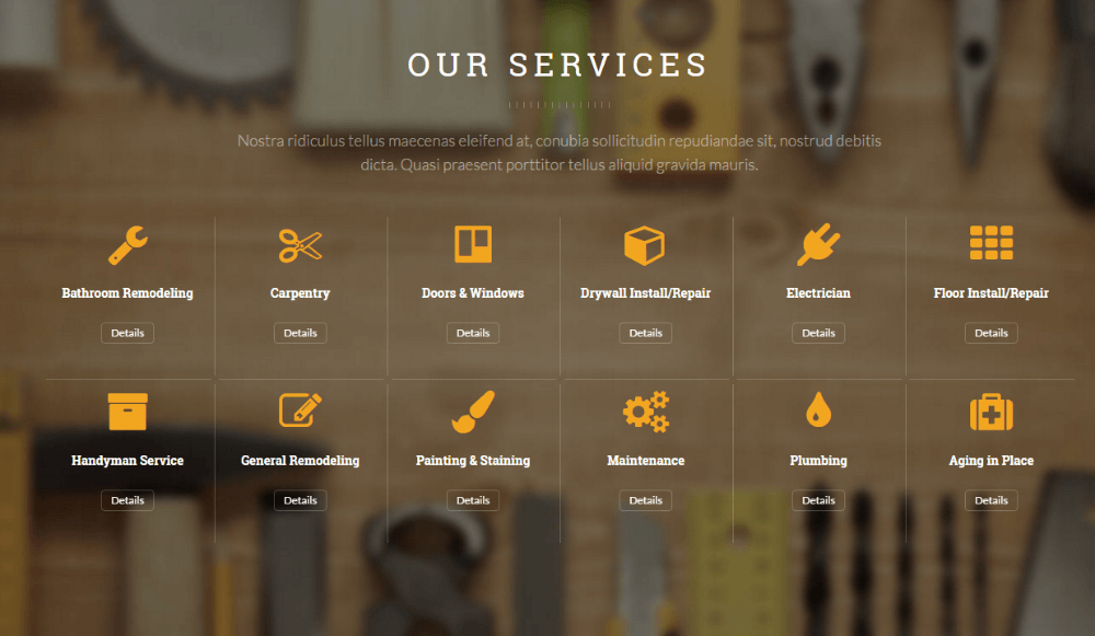Handyman - our services