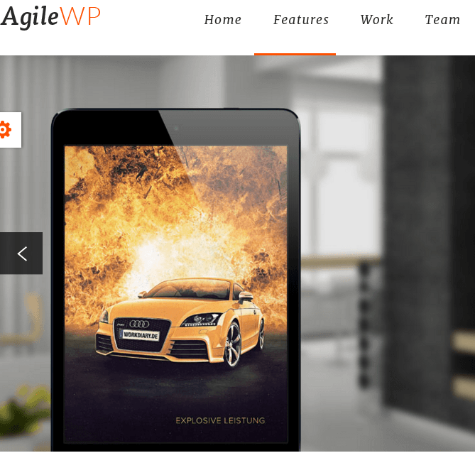 Agile - Fully Responsive Business WordPress theme