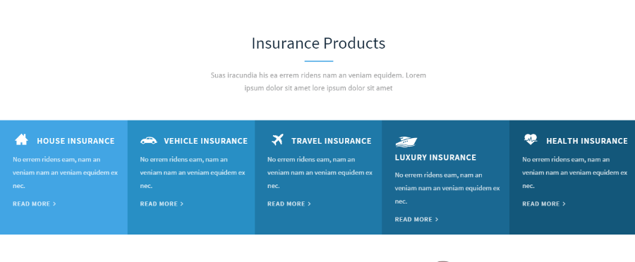 Insurance Agency - Insurance Products