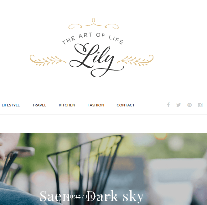 Lily homepage