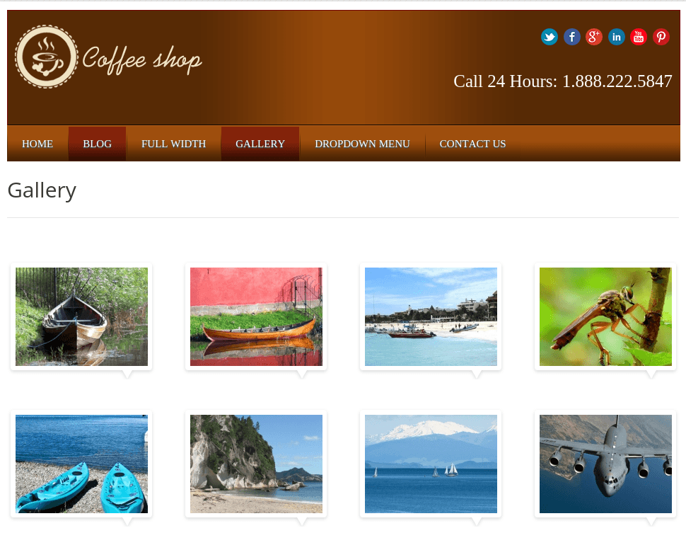 Local Business Gallery Page