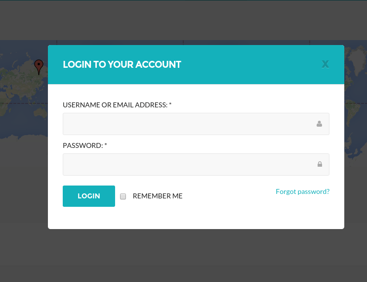 Login page of jobseek