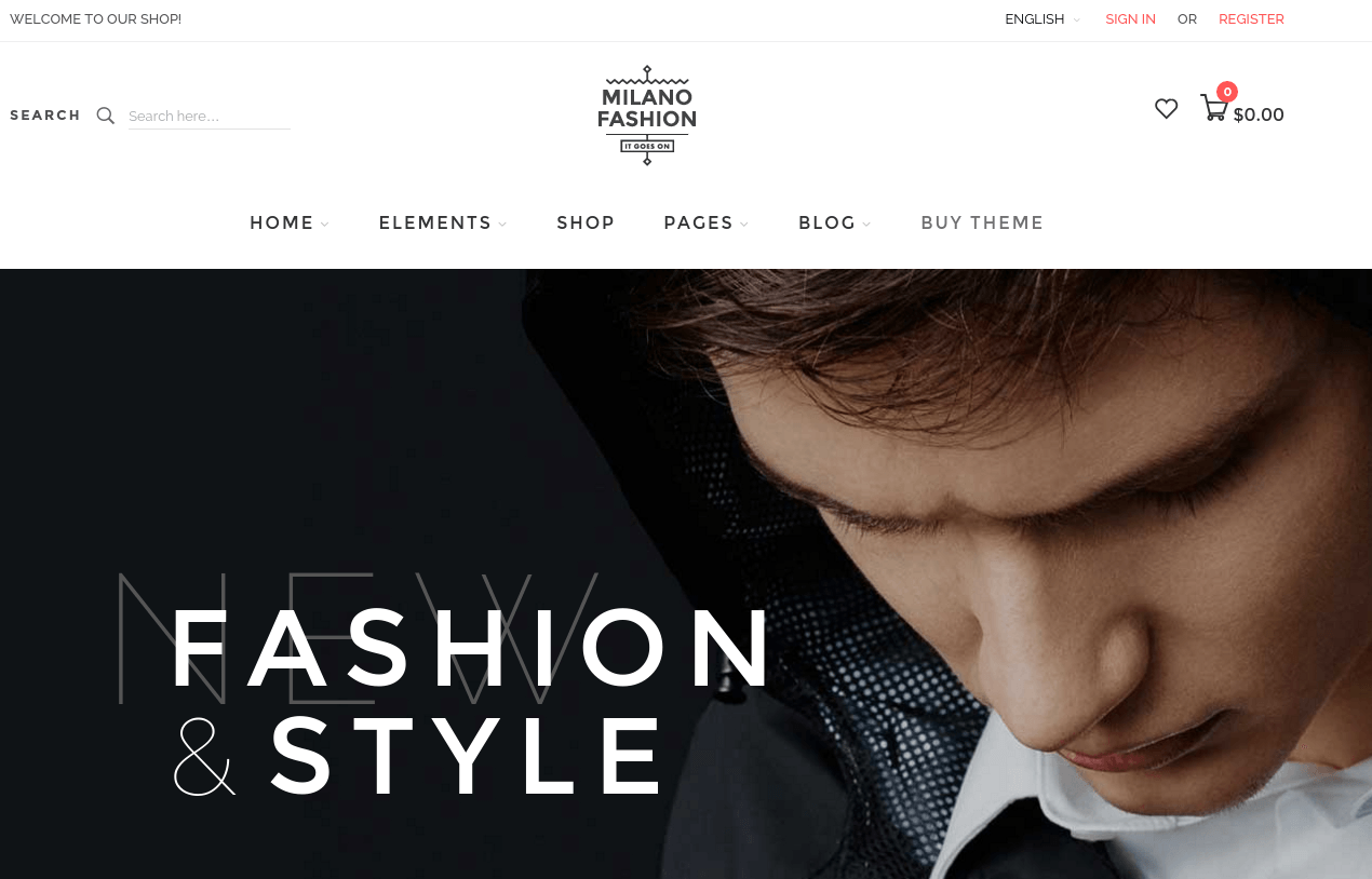 Milano Home Page