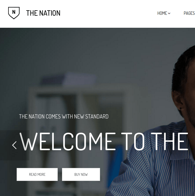 Nation homepage