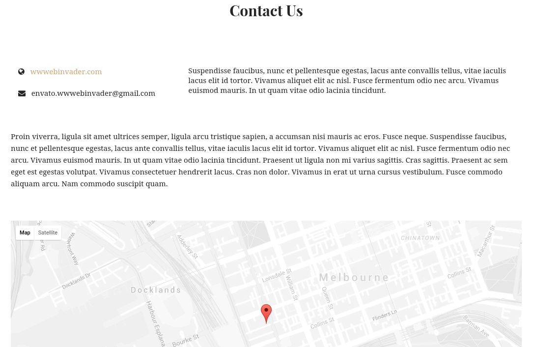 NewRoad Contact Page