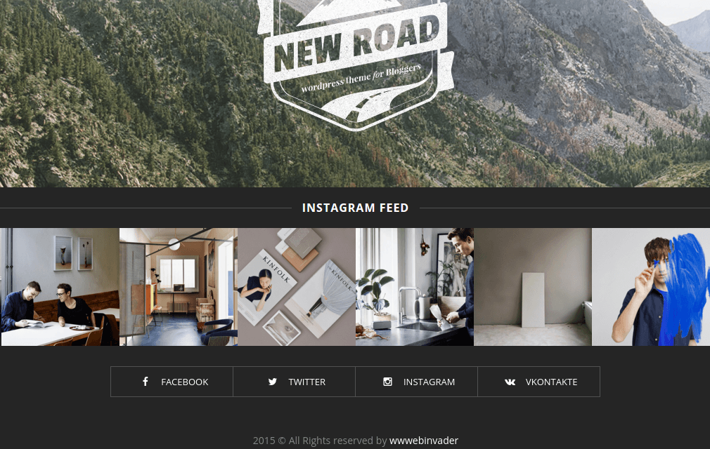 NewRoad Footer