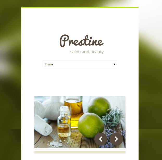 Prestine - Health and Beauty WP theme